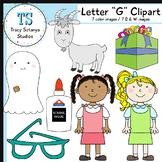 """Letter """"G"""" Clipart Set {Tracy Sztanya Studios}"""