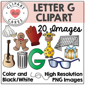 Letter G Alphabet Clipart by Clipart That Cares