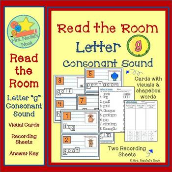 Read the Room Letter G
