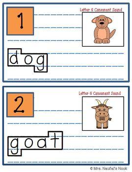 Alphabet Read the Room Letter G