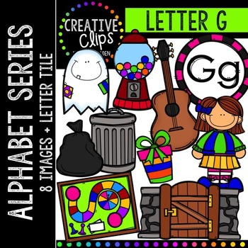 Letter G {Creative Clips Digital Clipart}