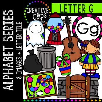 Letter G {Creative Clips Digital Clipart}