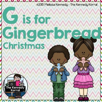 Christmas - Letter G is for Gingerbread