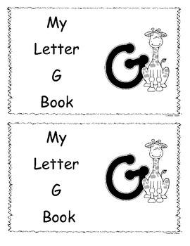 Letter G Little Reader/Book