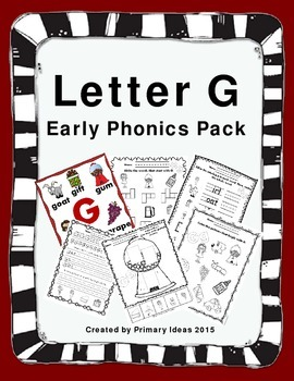 Letter G: Phonics Pack