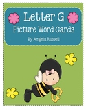 Letter G - Picture Word Cards