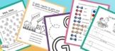Letter G Printable Activities in Spanish for Children