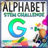 Letter G STEM Challenge | Letter G Activities