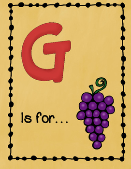 Letter G Story and Writing Practice