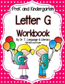 Letter of the Week: Letter G Workbook (PreK & Kindergarten)