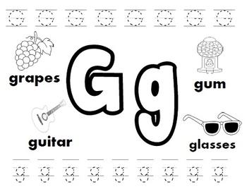 Letter G Worksheets! by Kindergarten Swag | Teachers Pay Teachers