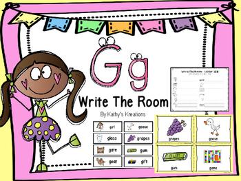 Letter G Write The Room