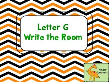 Write the Room Letter G