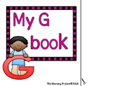 Letter G  adapted book for Early Childhood, Autism, and Sp