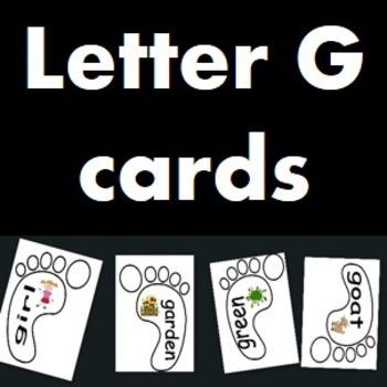 Letter G cards