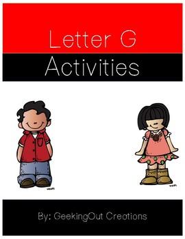 Letter G from the Alphabet Mega Bundle/Letter of the Week
