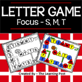 Letter Game S,M,T