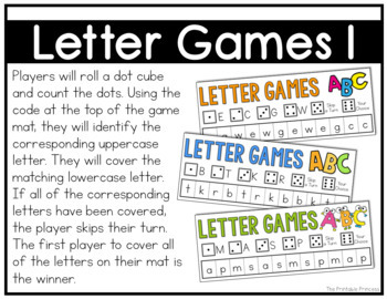 Letter Games  {Alphabet Activities to Teach Letter Recognition}