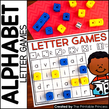 graphic about Letter Recognition Games Printable known as Alphabet Game titles Alphabet Pursuits towards Educate Letter Level of popularity