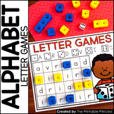 Alphabet Games  {Alphabet Activities to Teach Letter Recognition}