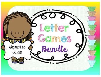 Letter Games Bundle! FIRST GRADE