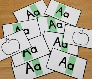 Letter Games Uppercase and Lowercase Awareness