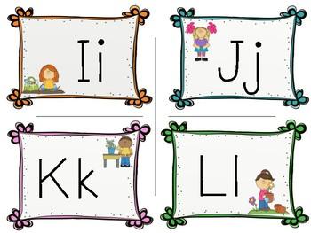 Letter Garden Cards