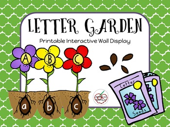 Letter Garden Interactive Wall Display