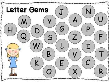 Letter Gems and Number Gems