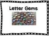 Letter Gems and Number Gems