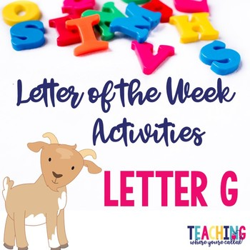 Letter Gg Activity Pack