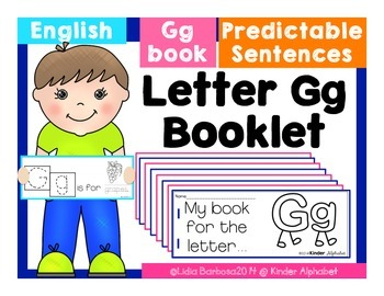 Letter Gg Booklet- Predictable Sentences