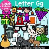 Letter Gg Digital Clipart