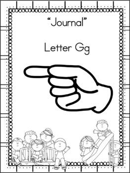 Letter Gg Journal