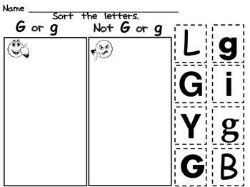 Letter Gg Mega Pack- Kindergarten Alphabet- Handwriting, Little Books, and MORE!