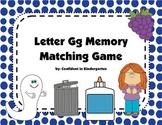 Letter Gg Memory Game