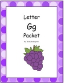 Letter Gg Phonics and Writing Pack