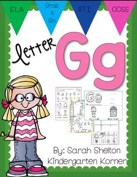 Letter Gg Practice (RTI)