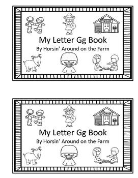 Letter Gg Readers with Bonus Reader