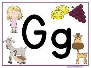Letter Gg Tater Tot Learning Pack