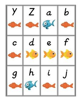 Letter Go Fish