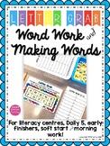 Letter Grab: Word Work & Making Words (Bananagrams)