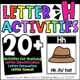 Letter H Activities Alphabet   Letter Recognition, Formation and Sounds