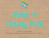 Letter H Activity Pack