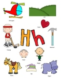 Letter H Activity Packet