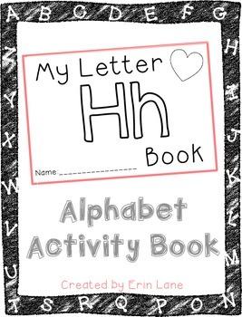 Letter H: Alphabet Activity Book
