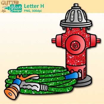 Letter H Alphabet Clip Art {Teach Phonics, Recognition, and Identification}