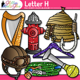Letter H Alphabet Clip Art | Teach Phonics, Recognition, and Identification