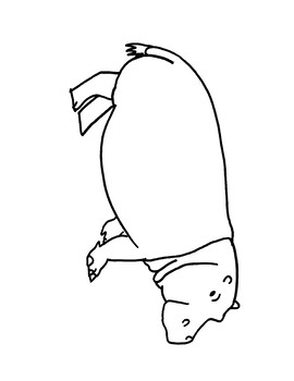 Letter H Animal Coloring Pages