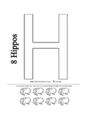 Letter H - BASIC Alphabet Curriculum for Preschool and Kin
